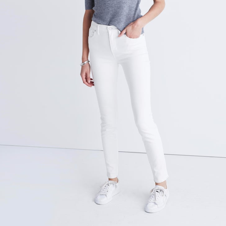 The Reviews on These White Jeans Are Insanely Good