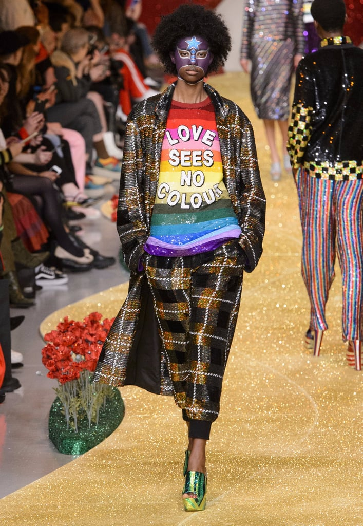 Ashish Makes Some Very Important Statements With Sequins at London Fashion Week