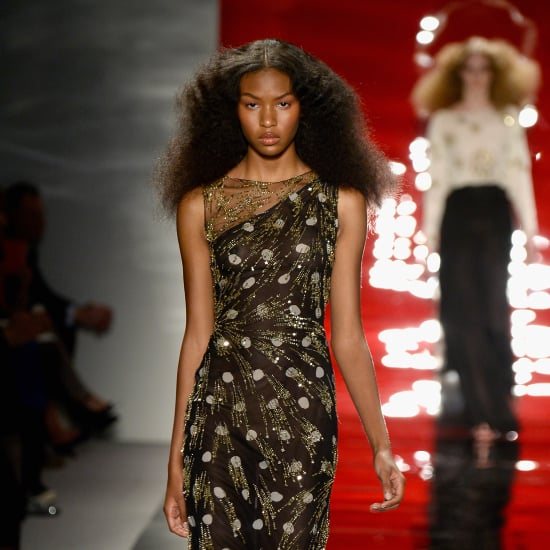 Reem Acra Spring 2014 Hair and Makeup   Runway Pictures