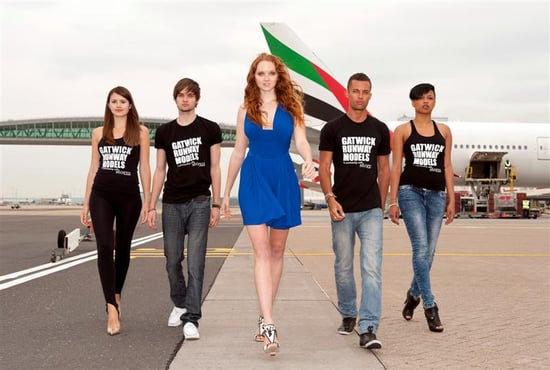 Lily Cole Launches Search for Storm Models at London Gatwick