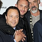 With Stephen Graham and Roger Lloyd-Pack at the Tinker, Tailor, Soldier, Spy London premiere in 2011.