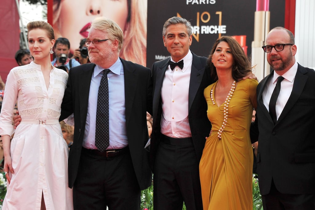 George Clooney Photos at Ides of March Venice Premiere