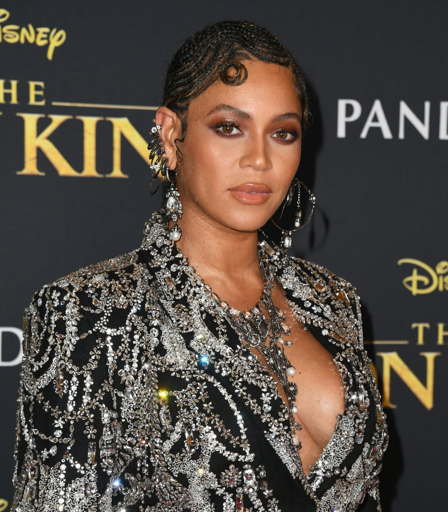 Beyoncé Knowles at The Lion King Premiere