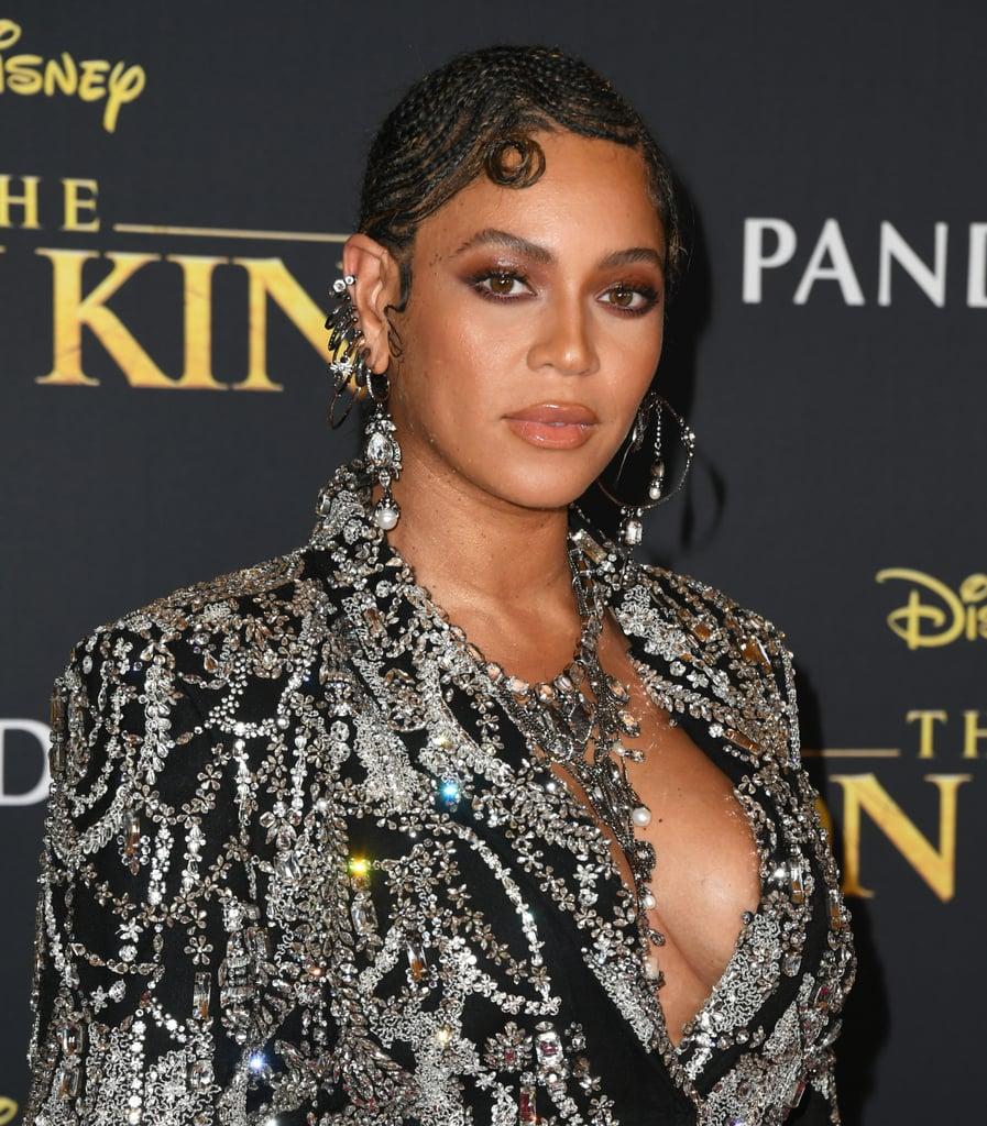 Beyoncé Knowles at The Lion King Premiere