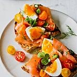 Smoked Salmon Niçoise Toast