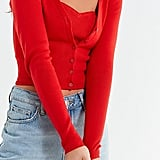 UO Cindy Cropped Cardigan