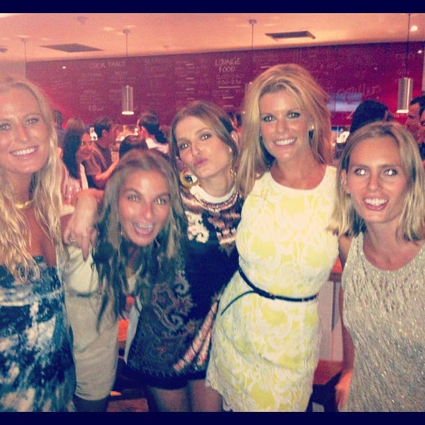 Kate Waterhouse celebrated her birthday with friends. Source: Instagram user katewaterhouse7