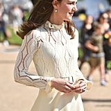 And the Dress Looked Stunning in the Sunlight