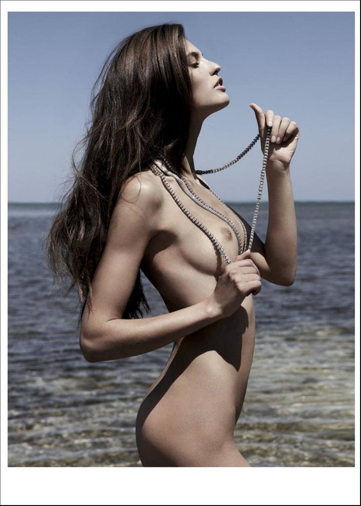 "Bianca Balti's ""Erotic Summer"" for Playboy France June/July 2009"