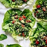 Vegan: Avocado Tabbouleh Lettuce Wraps