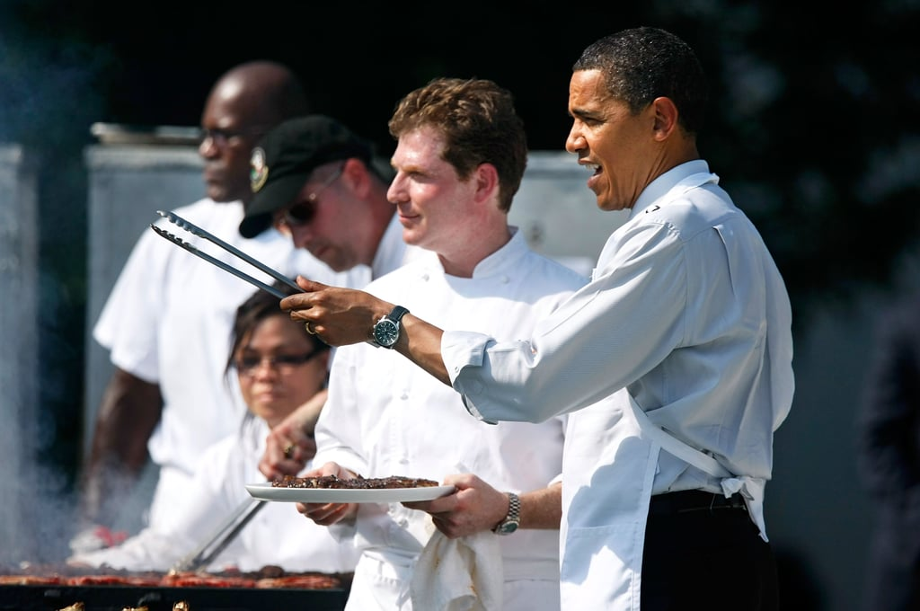 He cooked for the president at the White House.