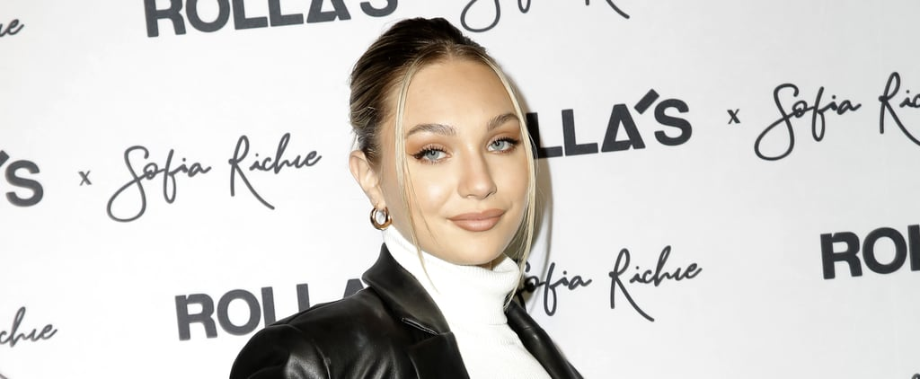 "Maddie Ziegler First Tattoo Says ""Frances"""