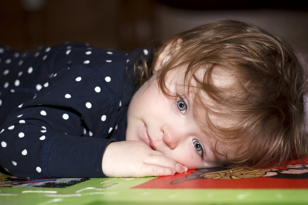 First time your child vomits (and it's not just a little spit-up).