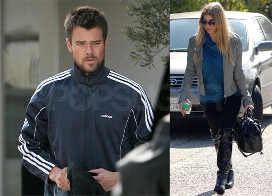 Photos of Fergie Leaving the Salon in LA, Josh Duhamel Shopping in LA