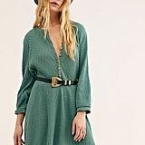 Blossom Button-Up T-Shirt Dress