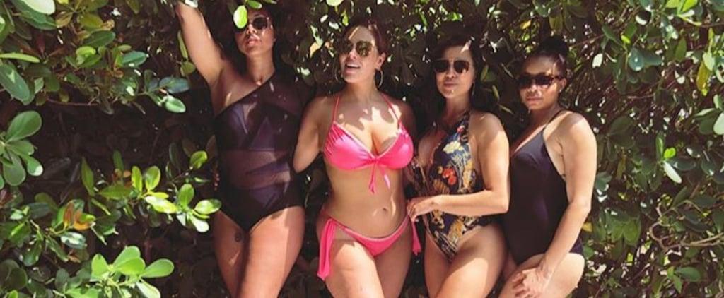 Ashley Graham Pink Swimsuits For All Bikini