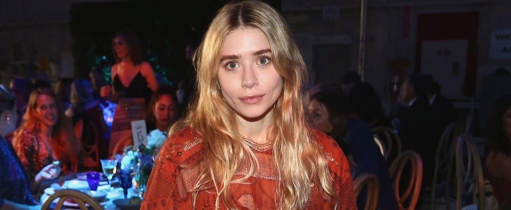 Ashley Olsen Red Beaded Dress