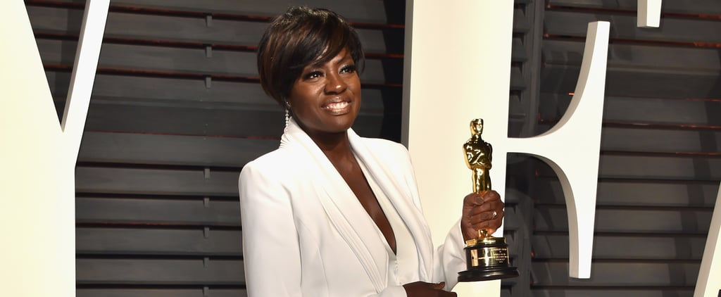 Viola Davis Wearing Trainers at the Oscars 2017