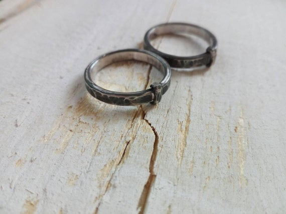 Wedding Rings Inspired by Claire and Jamie Gifts For Outlander