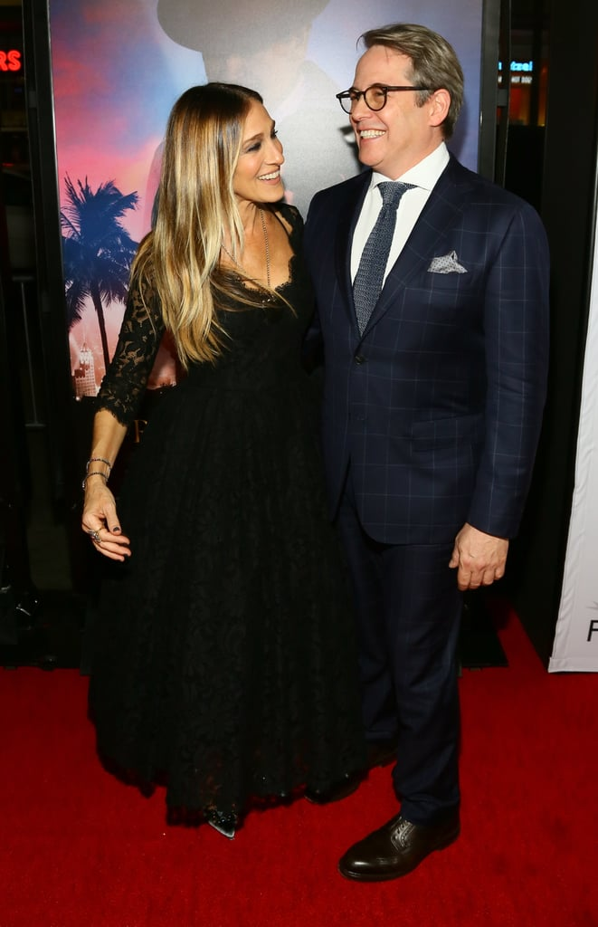 "Sarah Jessica Parker hit up LA's AFI Fest to support husband Matthew Broderick at the premiere of his new film Rules Don't Apply on Friday evening. Clad in a black lace gown, Sarah looked lovely as she posed for photos alongside her husband on the red carpet. The long-time couple is gearing up to celebrate their 20th wedding anniversary next year, and during a stop on The Ellen DeGeneres Show in September, Sarah gushed, ""I am in a long marriage, and a really happy one . . . We have a home that we find really satisfying."" With all the couples calling it quits this year, it's nice to see Sarah and Matthew so in love."