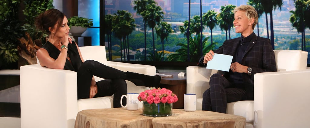 Victoria Beckham Gets Quizzed on Husband David's Body and Fails Miserably