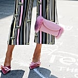Look Pretty in a Pair of Pink Velvet Heels