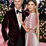 Tom Brady and Gisele Bündchen at the 2019 Met Gala