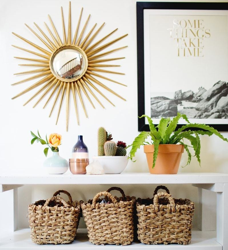 The best home decor for small spaces popsugar home australia Home decor wall decor australia