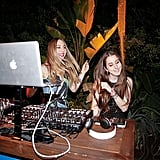 The Haim Sisters Played DJ at H&M x Coachella