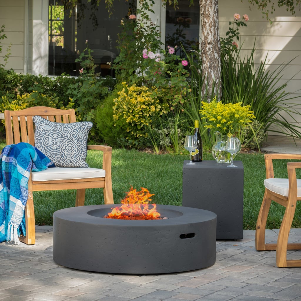 Wade Logan Olivet Gas Fire Pit Table