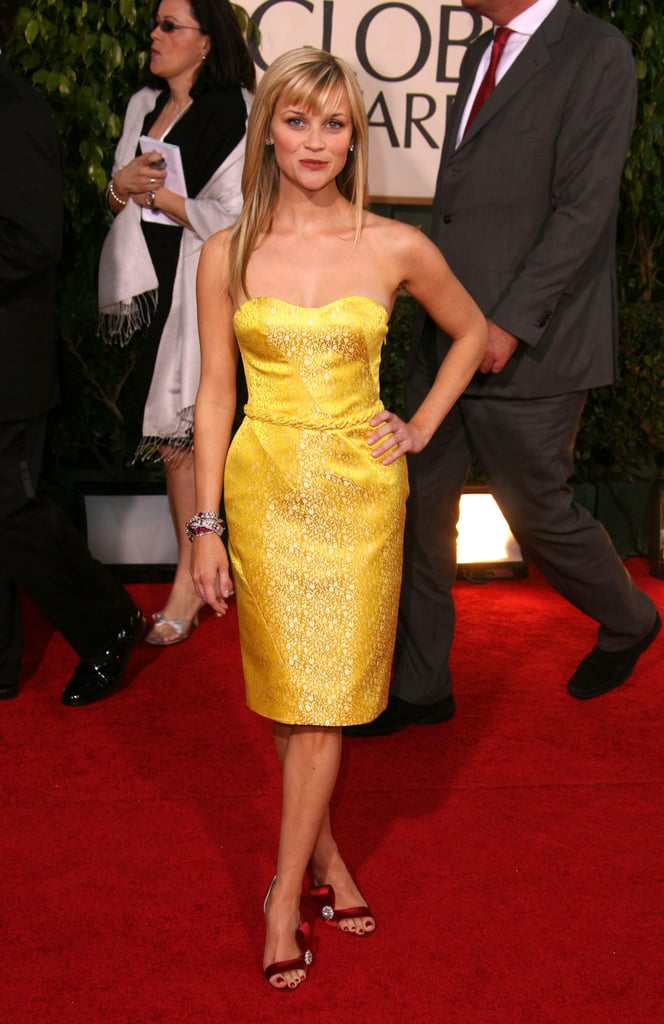 Reese Witherspoon at the 2007 Golden Globes
