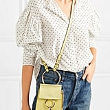 Chloé Faye Bracelet Mini Leather And Suede Shoulder Bag