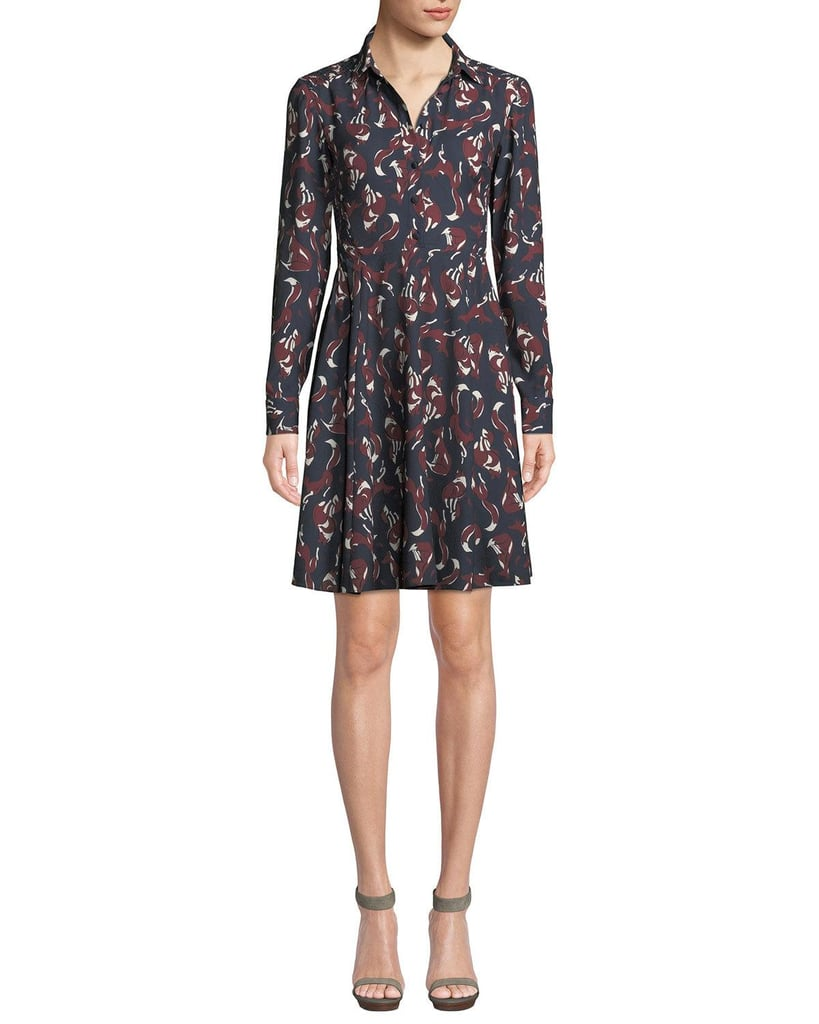 f0fa231b919 Pippa Middleton in Kate Spade Dress With Fox Print