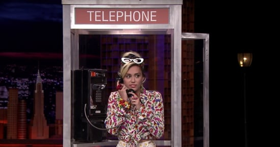 Miley Cyrus, Jimmy Fallon Play 'Phone Booth'