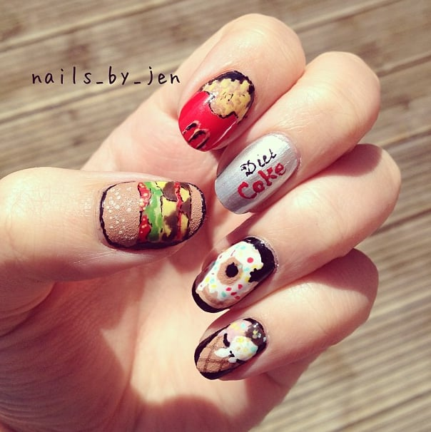 Doughnut Nail Art Ideas | POPSUGAR Beauty
