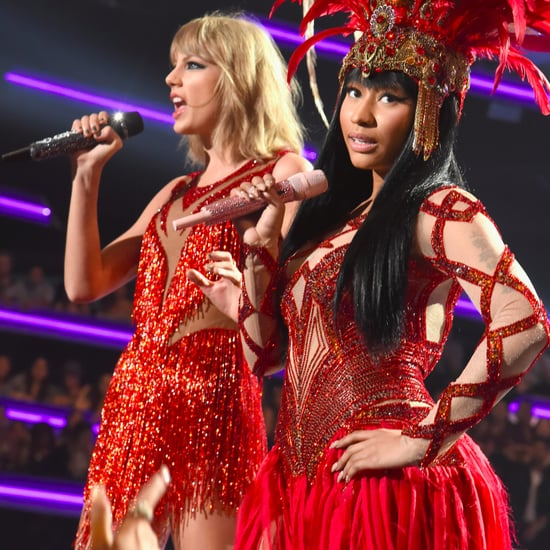 Nicki Minaj Tweets About New Taylor Swift Song 2017