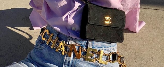 Vintage and Secondhand Chanel Bags, Shoes, Jewelry & Clothes