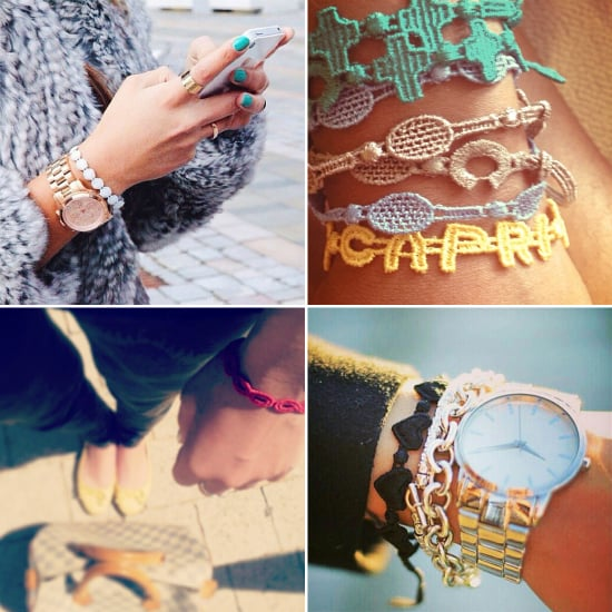 online retailer 11a1c 2d8f5 Cruciani C Macrame Bracelets | POPSUGAR Fashion
