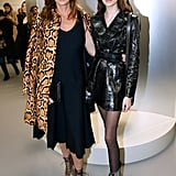 Cindy Crawford and Kaia Gerber Wearing Animal Print and Leather in 2018