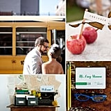 34 Smart Ideas For Back-to-School Wedding Inspiration  If you and your spouse-to-be are devoted academics, high school sweethearts, or just nostalgic about your No. 2-pencil days, give your big day some scholastic charm with these creative ideas. Bookish accents, cheeky apple details, and library-themed decor will help you channel that academic vibe. Other gold star picks include chalkboard backdrops, fancy bulletin boards, and paper airplane details. Hoping to use school as your main inspiration? Learn how with these 34 bright ideas.