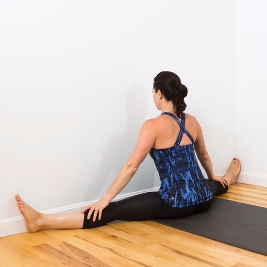 Inner Thigh Wall Stretch