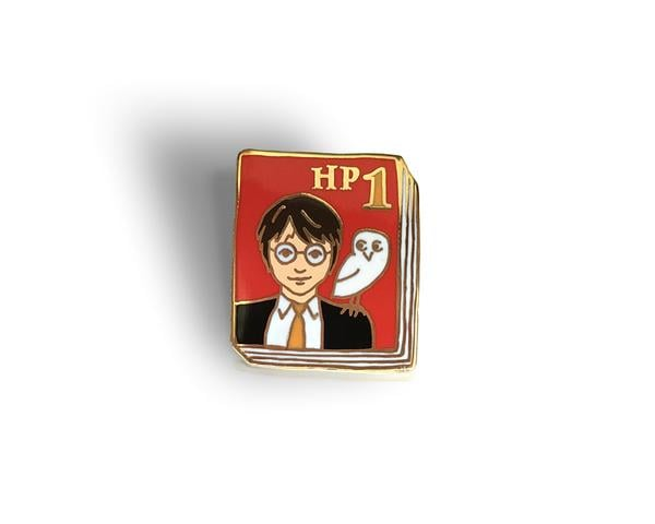 Harry Potter book pins