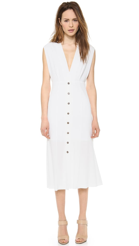 Theyskens' Theory White Mididress