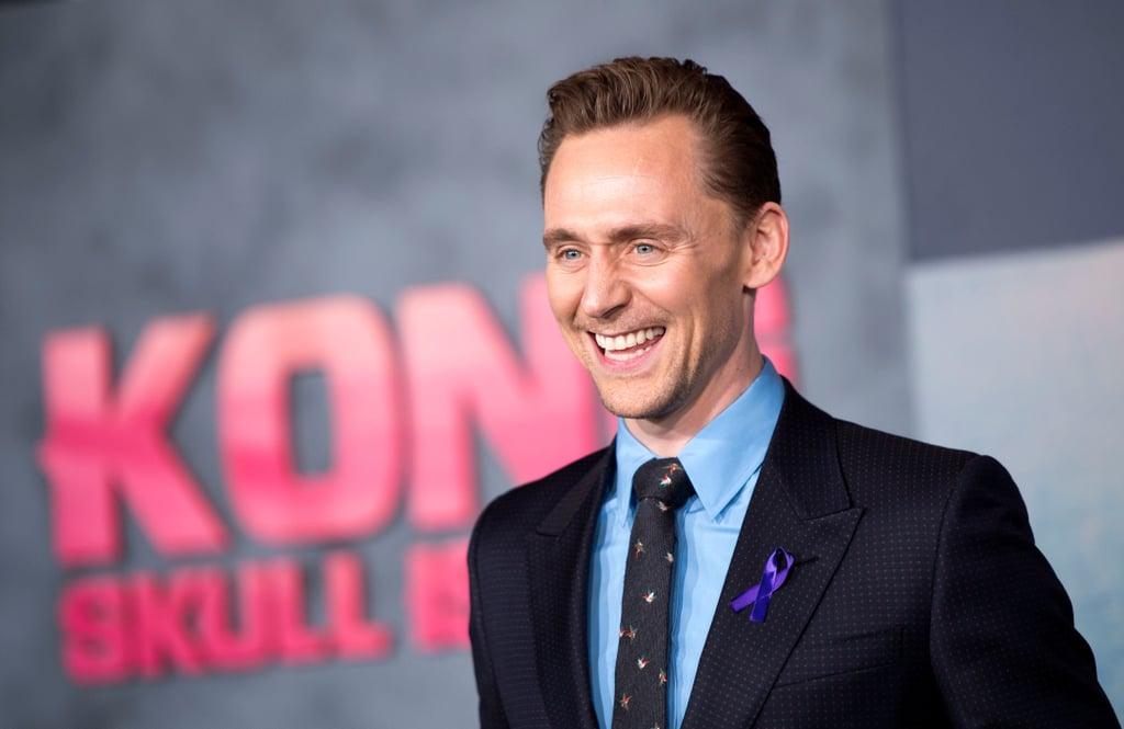 Tom Hiddleston at LA Premiere of Kong: Skull Island