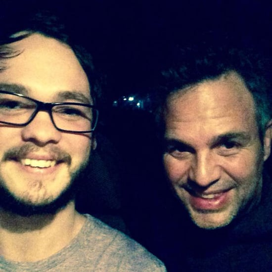 Mark Ruffalo in Queensland UberX Driver's Car