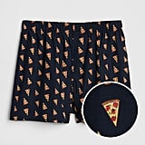 Pizza and Pepperoni Print Boxers