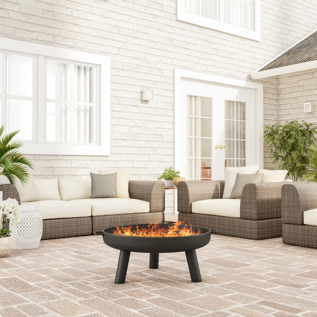 Janke Outdoor Steel Wood Burning Fire Pit