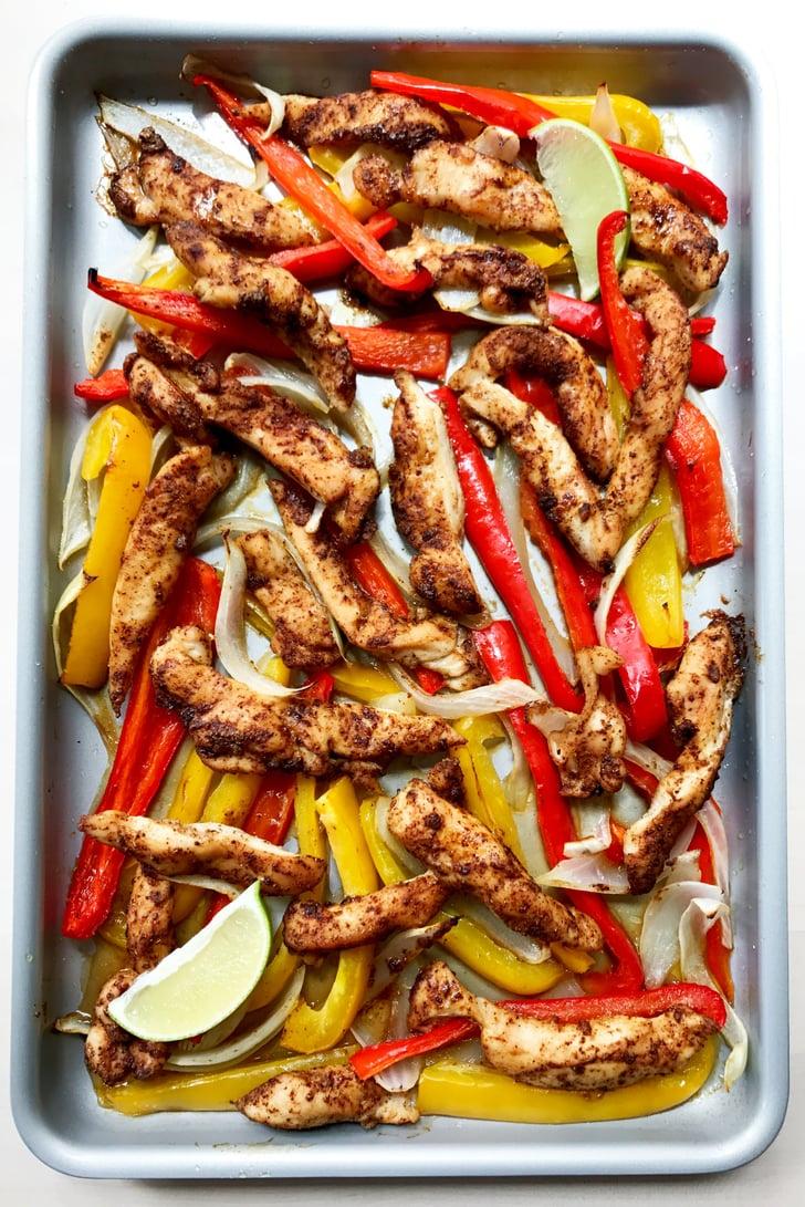 Chicken Fajitas | Keto Sheet Pan Recipes | POPSUGAR ...