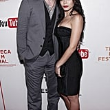 Channing Tatum and Jenna Dewan got close at the Earth Made of Glass premiere during the ninth annual Tribeca Film Festival in April 2010.