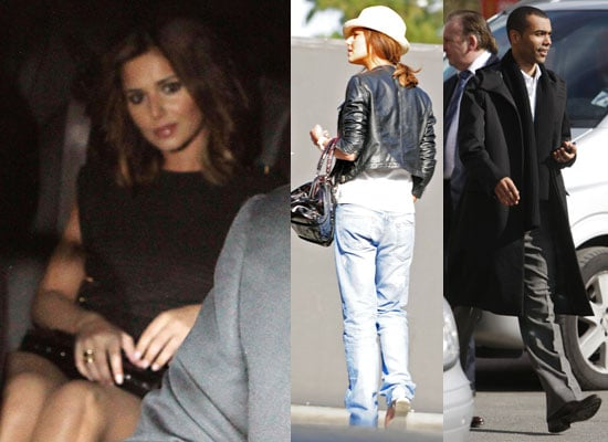 Photos of Glamour UK's Best Dressed Female Cheryl Cole in LA and Ashley Cole in Manchester As Frankie Sandford Denies Romance
